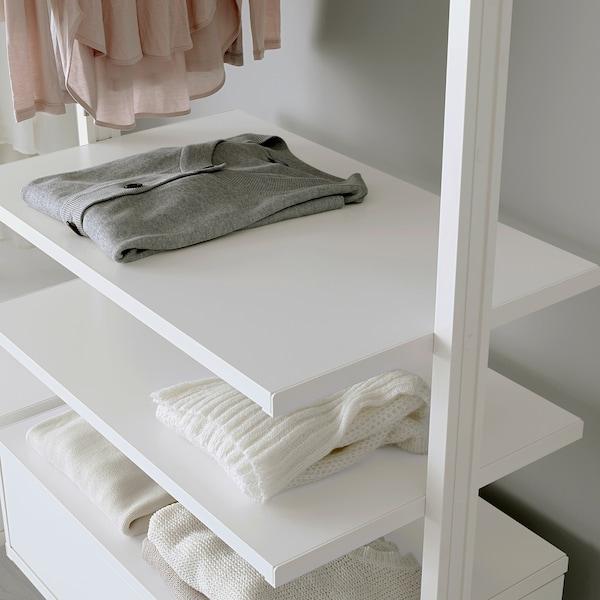 ELVARLI 1 section, white, 92x51x222-350 cm