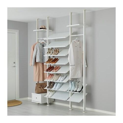 elvarli 3 sections white 178x51x222 350 cm ikea. Black Bedroom Furniture Sets. Home Design Ideas