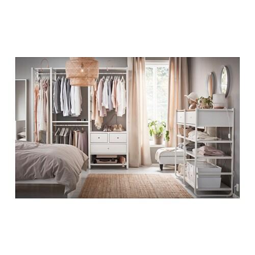 elvarli 3 sections white 205x55x216 cm ikea. Black Bedroom Furniture Sets. Home Design Ideas