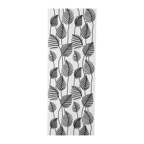 IKEA EMELINA panel curtain Easy to shorten to the desired length by simply cutting.