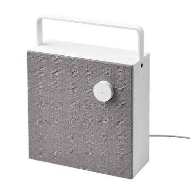 ENEBY Bluetooth speaker, white/gen 2, 20x20 cm