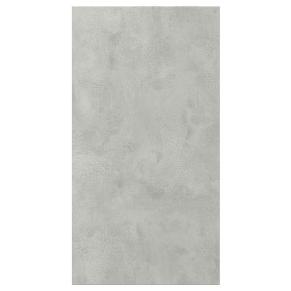 ENHET Door, concrete effect, 40x75 cm