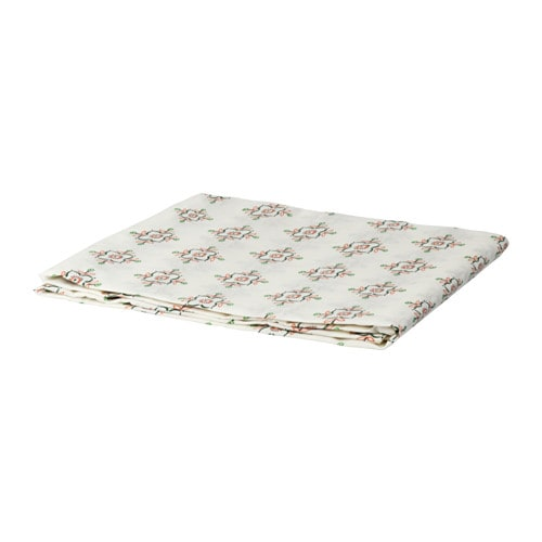 IKEA ENIGT tablecloth Protects the table top surface and reduces noise from plates and cutlery.