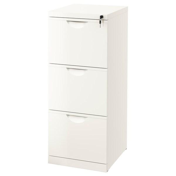ERIK file cabinet white 41 cm 50 cm 104 cm
