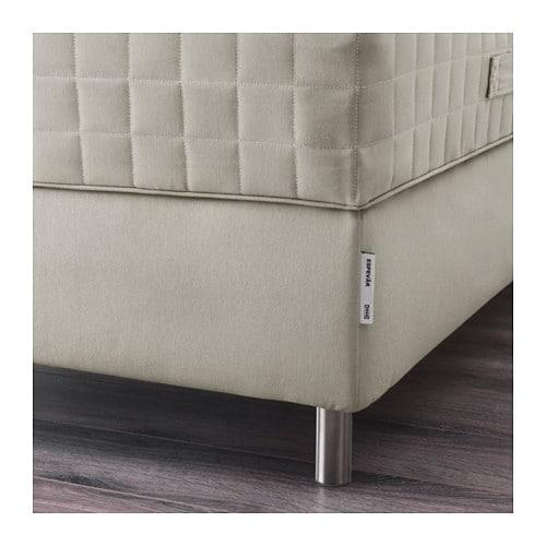 ESPEVÄR Sprung mattress base Beige Standard Super King IKEA