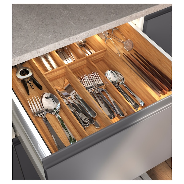 EXCEPTIONELL Drawer, low with push to open, white, 60x60 cm