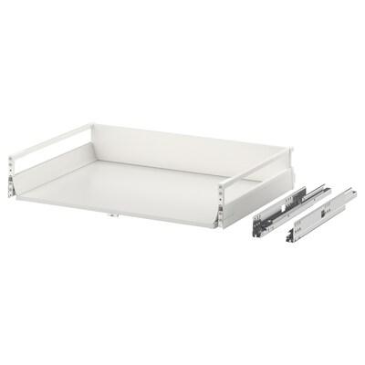 EXCEPTIONELL drawer, medium with push to open white 76.4 cm 80.0 cm 54.2 cm 14.4 cm 60.0 cm 25 kg