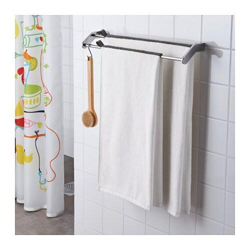 f rglav bath towel white dark grey 70x140 cm ikea. Black Bedroom Furniture Sets. Home Design Ideas