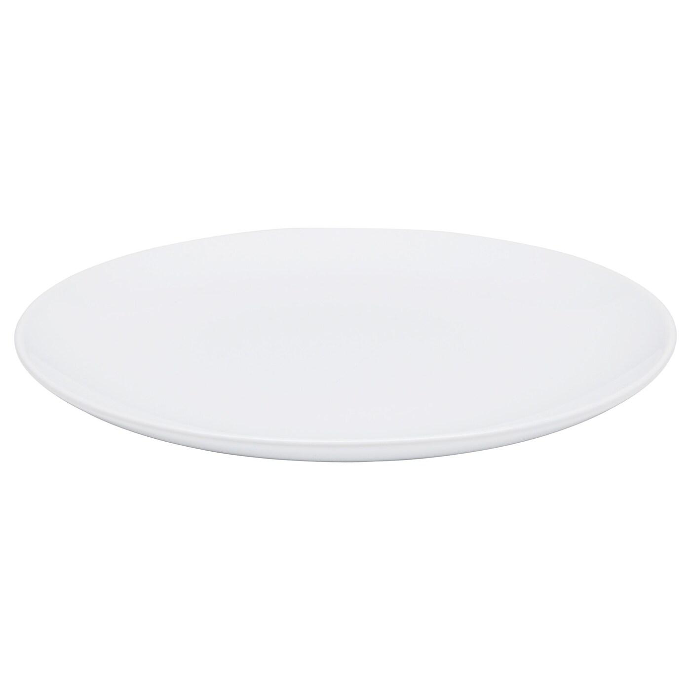 FRGRIK Plate Whitestoneware 27 Cm IKEA