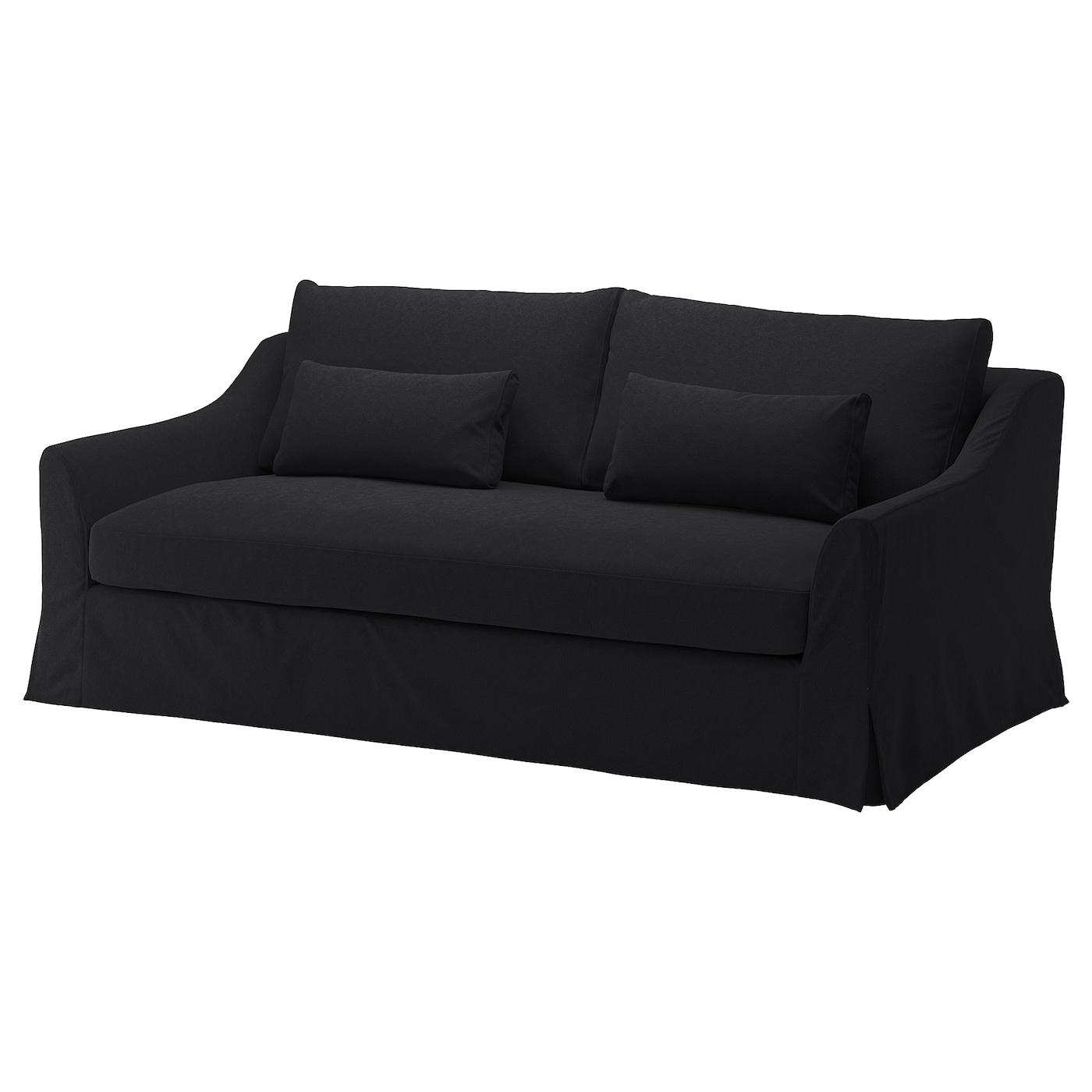 "F""RL–V 3 seat sofa Tallmyra dark grey IKEA"