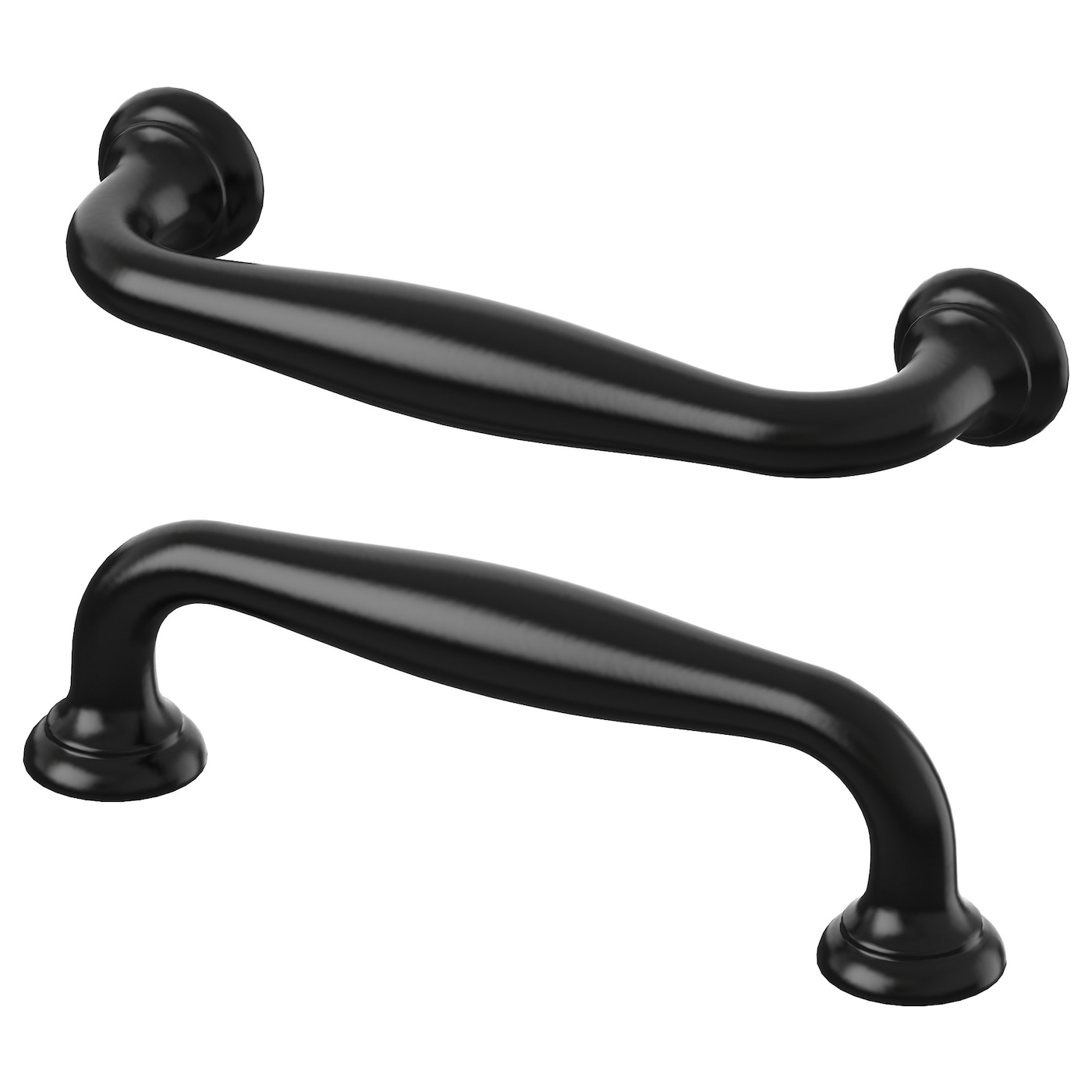 f glavik handle black 116 mm ikea. Black Bedroom Furniture Sets. Home Design Ideas