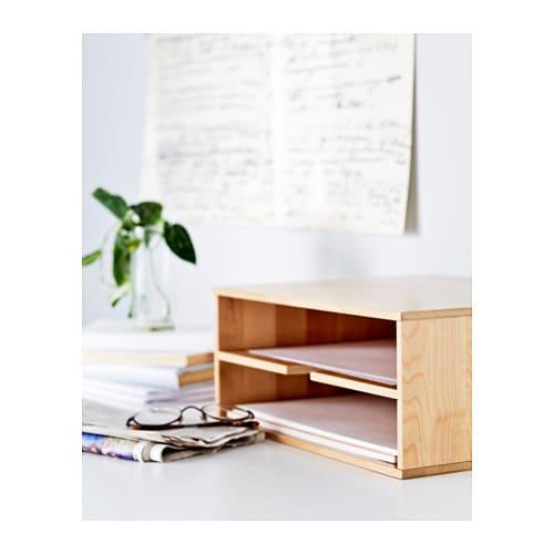 Ikea Küchenwagen Förhöja ~ fÖrhÖja letter tray birch ikea
