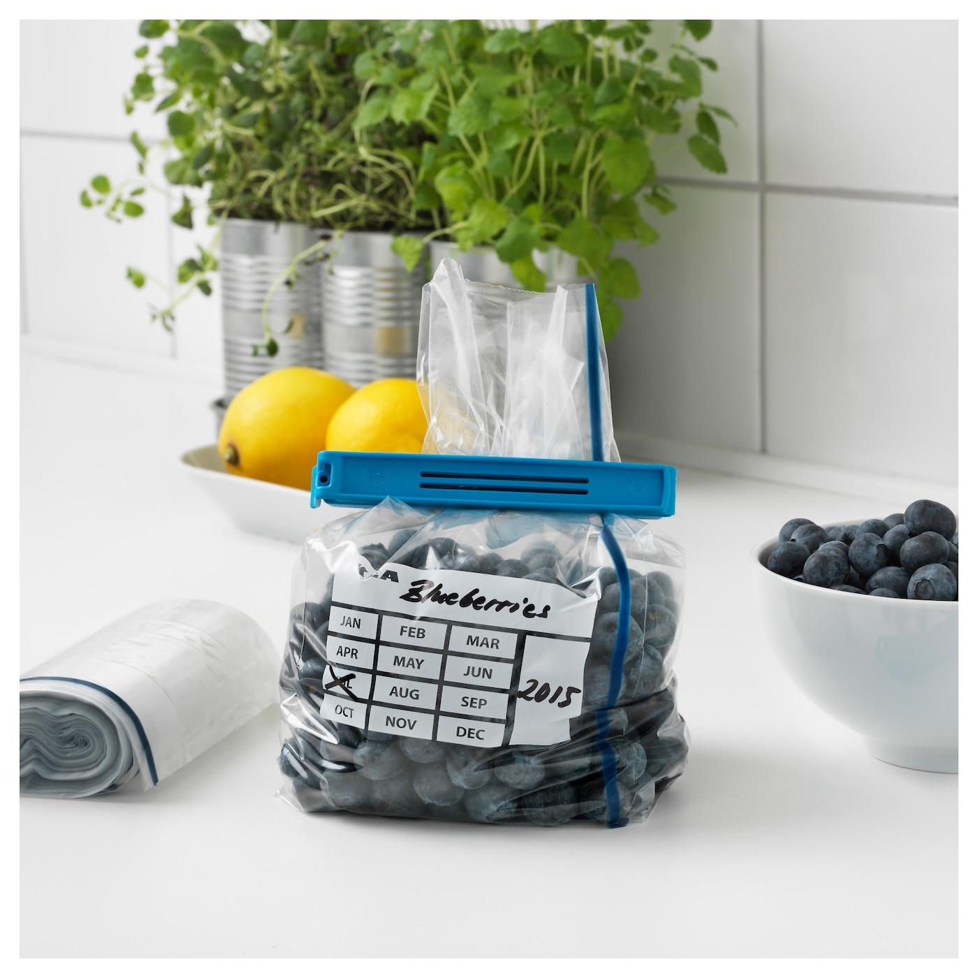 f rnybar freezer bag blue 1 l ikea. Black Bedroom Furniture Sets. Home Design Ideas
