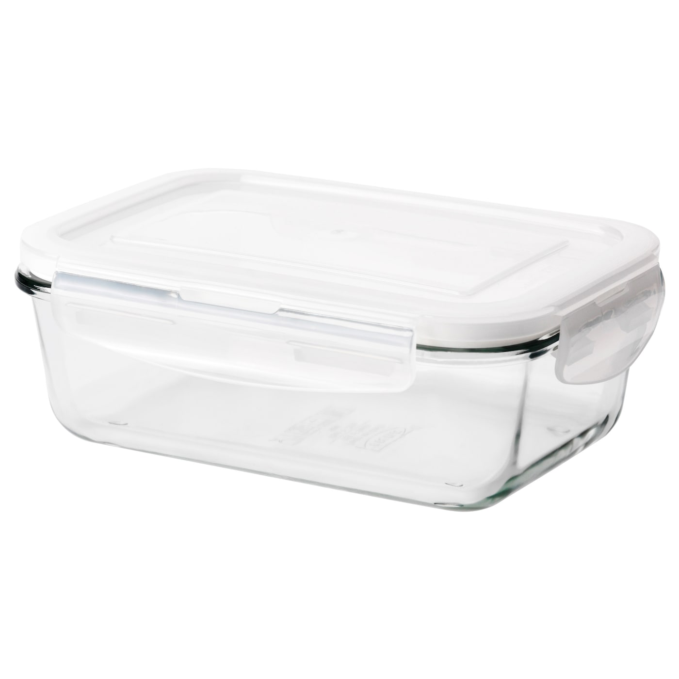 f rtrolig food container clear glass 13x19x7 cm ikea