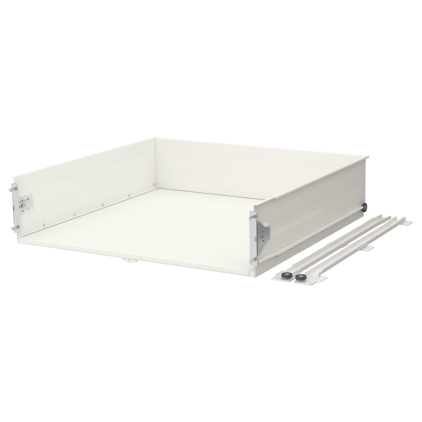 F rvara drawer medium white 60x60 cm ikea - Etagere murale avec tiroir ...
