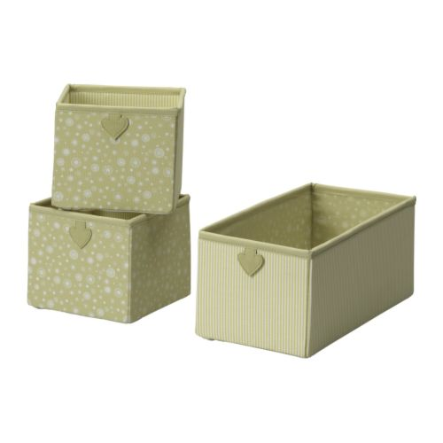 FABLER Box, set of 3, green