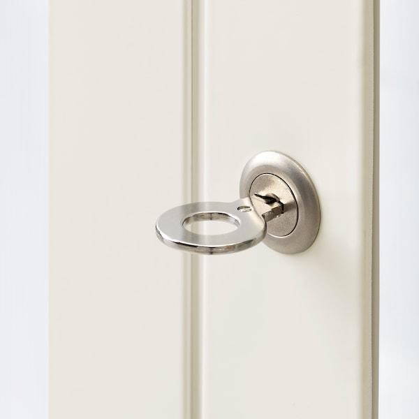 FABRIKÖR glass-door cabinet white 81 cm 42 cm 113 cm 10 kg