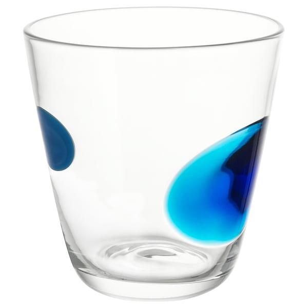 FABULÖS glass blue 9 cm 30 cl