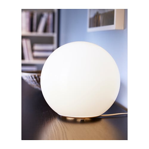 IKEA FADO table lamp Creates a soft, cosy mood light in your room.