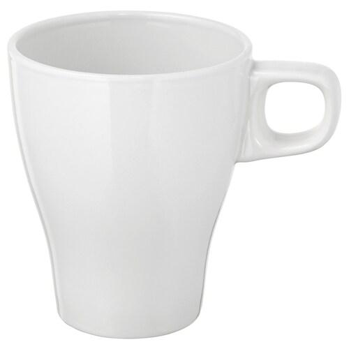 FÄRGRIK stoneware white, Mug IKEA