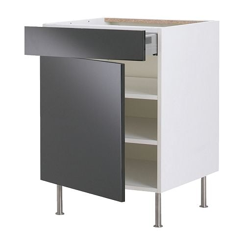FAKTUM Base cabinet w shelf/drawer/door IKEA 25 year guarantee.   Read about the terms in the guarantee brochure.