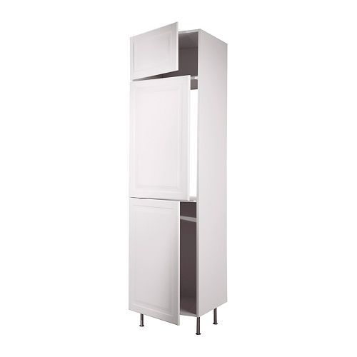 FAKTUM High cab f fridge/freezer w 3 doors IKEA 2 reinforced shelves are included for higher stability when appliances are built in.