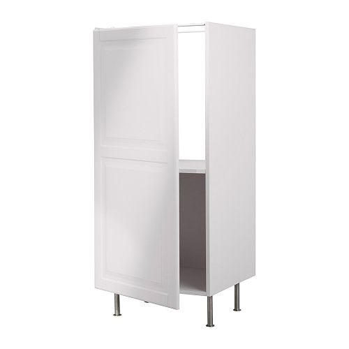 FAKTUM High cabinet for fridge IKEA 1 reinforced shelf is included for higher stability when appliances are built in.