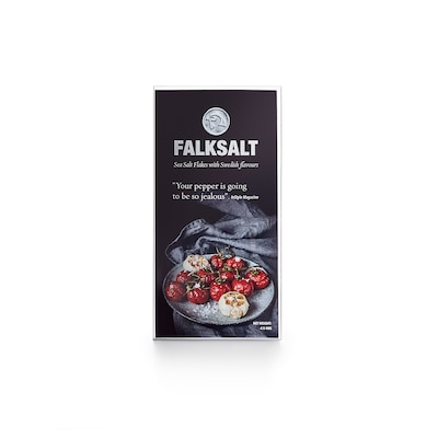 FALKSALT Sea salt flakes, 4 piece, 160 g
