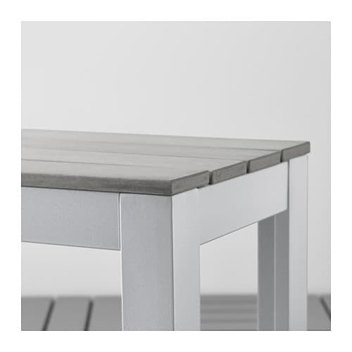 IKEA FALSTER bench, outdoor The polystyrene slats are weather-resistant and easy to care for.