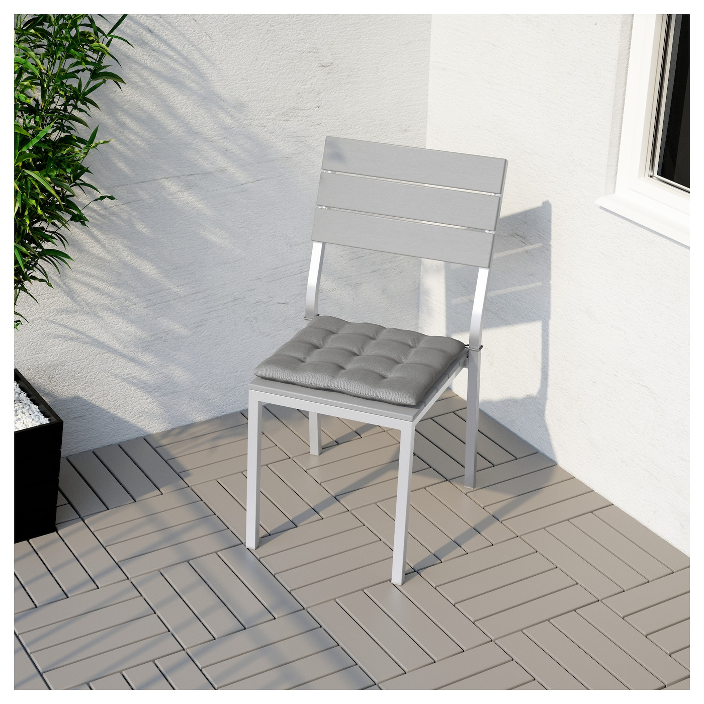 chair outdoor falster grey
