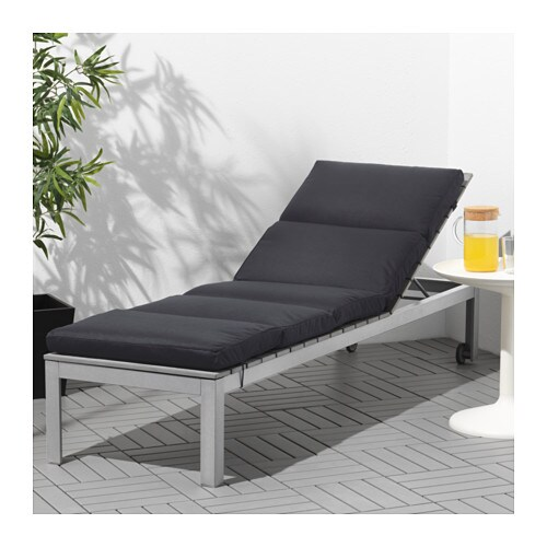 IKEA FALSTER sun lounger The back can be adjusted to six different positions.