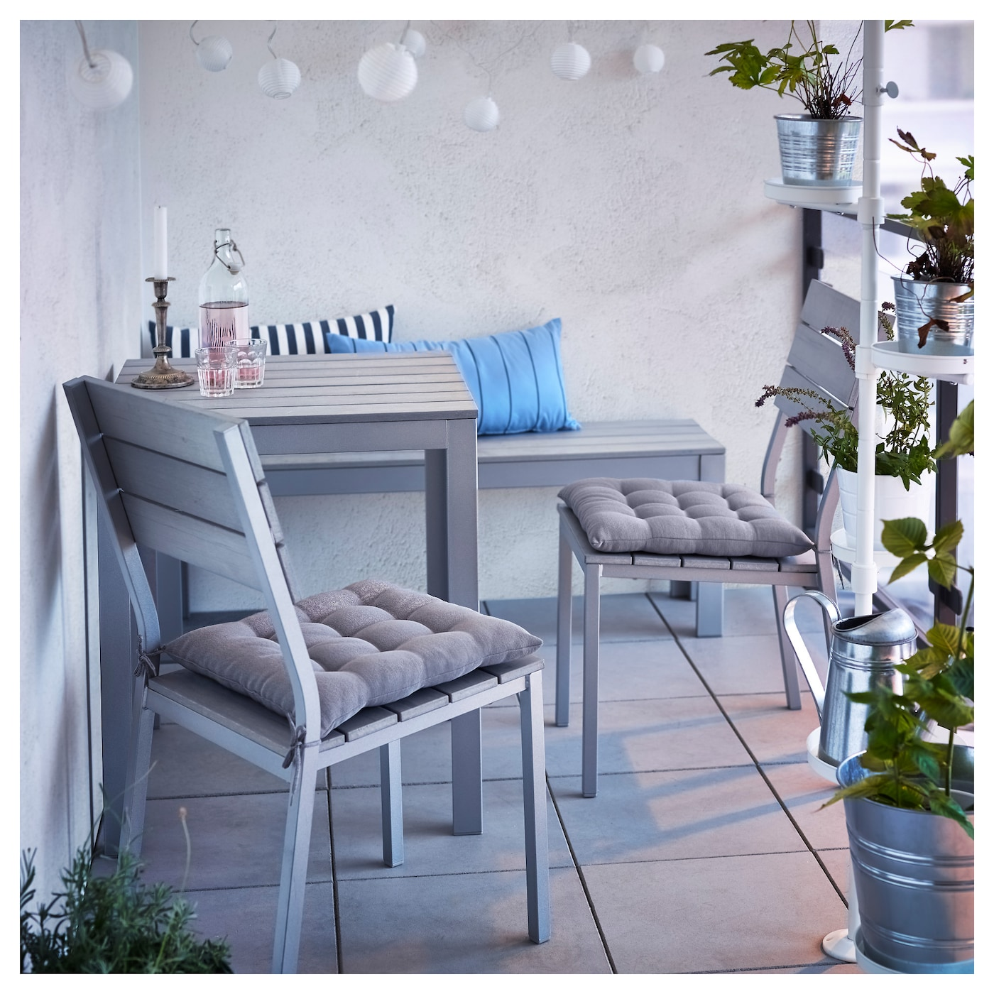 Superieur IKEA FALSTER Table, Outdoor The Polystyrene Slats Are Weather Resistant And  Easy To Care