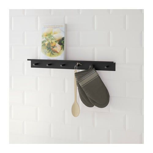 FALSTERBO Wall rail with hooks  IKEA -> Ikea Wandregal Falsterbo