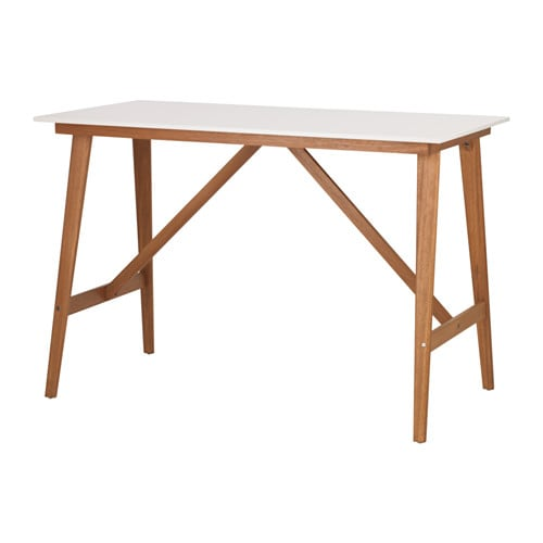 Fanbyn bar table white 140x78x95 cm ikea - Table cuisine haute ikea ...