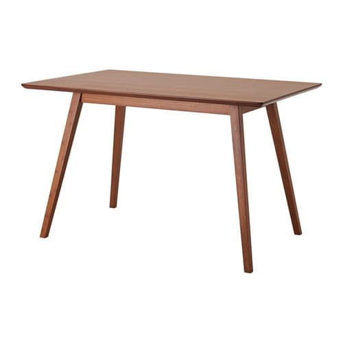 Fanom dining table ikea for Ikea bamboo dining table