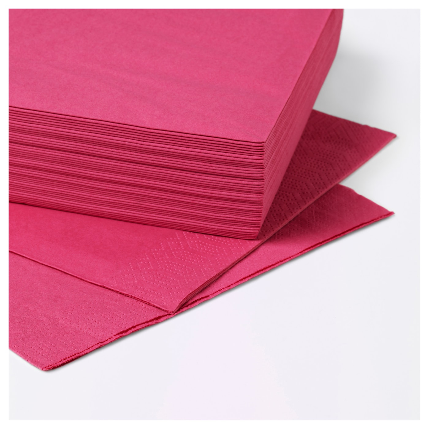 fantastisk paper napkin cerise 40x40 cm ikea. Black Bedroom Furniture Sets. Home Design Ideas