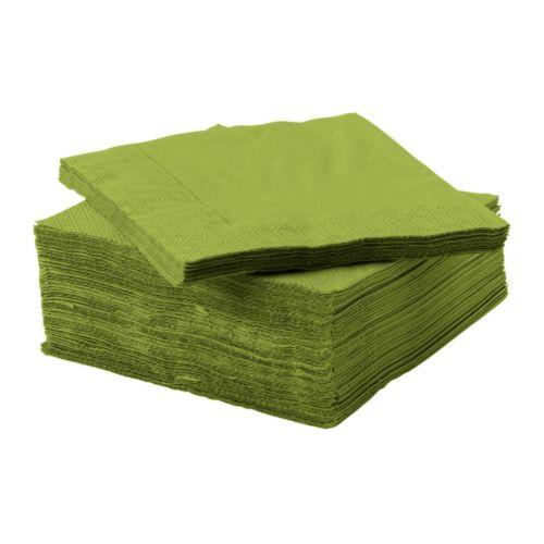fantastisk paper napkin 24x24 cm ikea