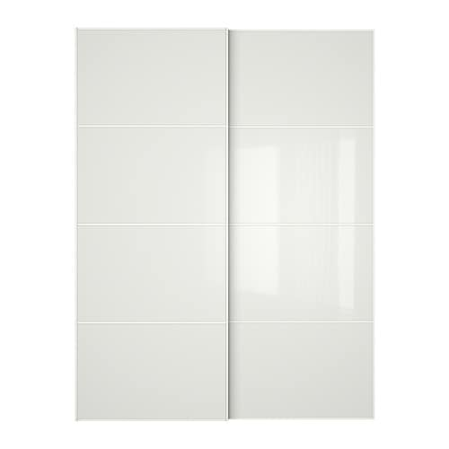 FÄRVIK Pair of sliding doors IKEA 10 year guarantee.   Read about the terms in the guarantee brochure.