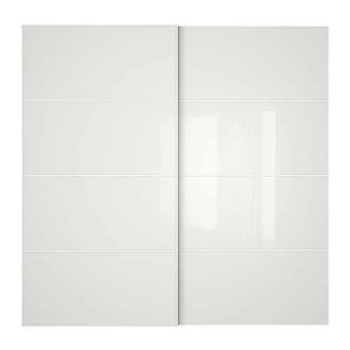 F RVIK Pair Of Sliding Doors IKEA 10 Year Guarantee Read About The