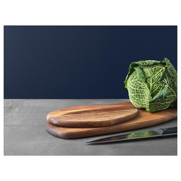 FASCINERA chopping board mango wood 52 cm 22 cm 1.8 cm
