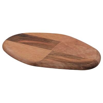 FASCINERA Chopping board, mango wood, 28x19 cm