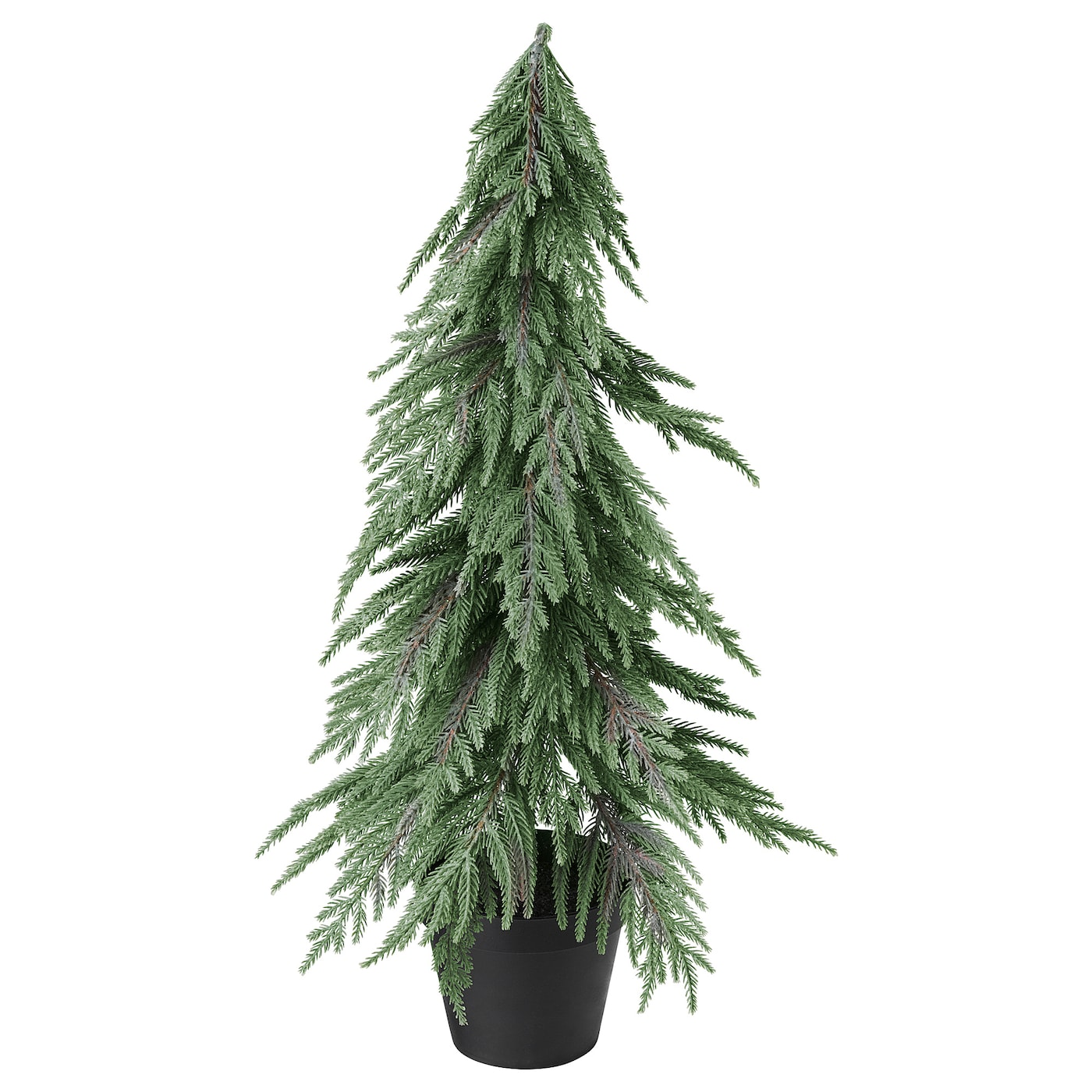Fejka Artificial Potted Plant Christmas Tree Glitter 12 Cm