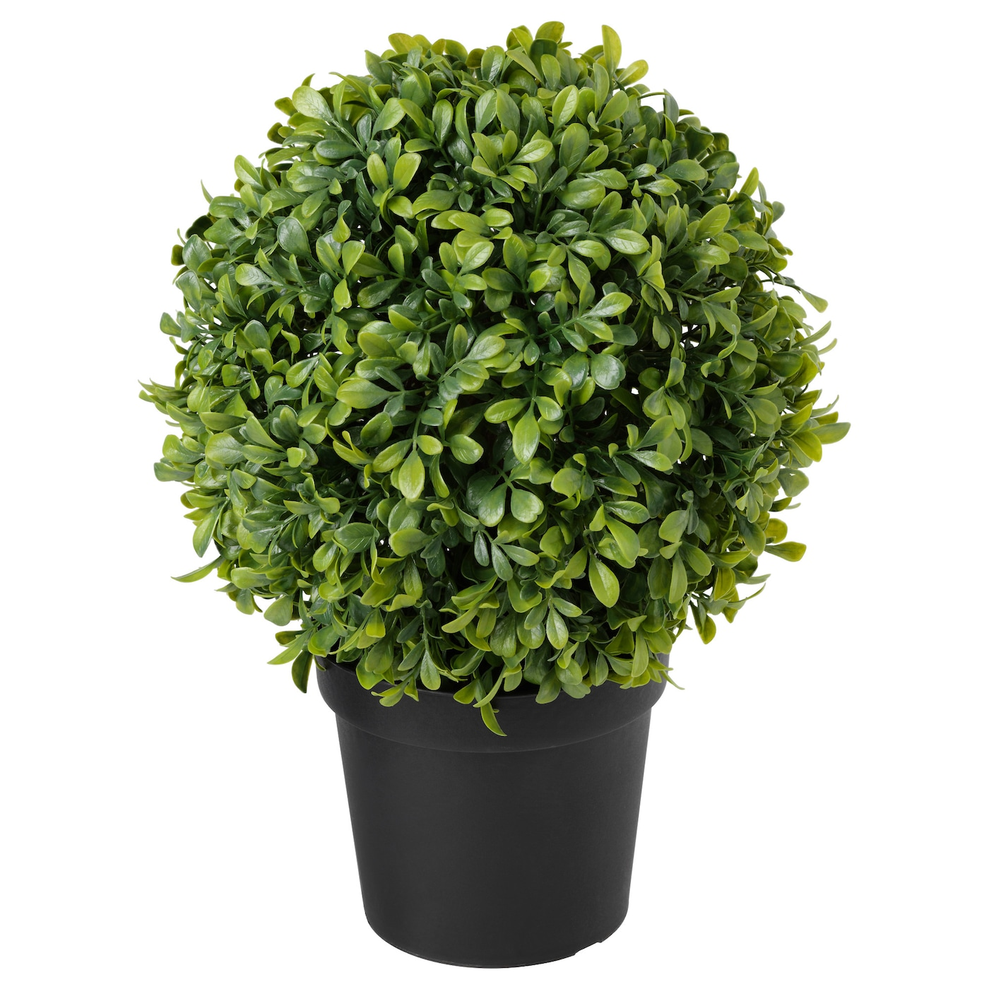 Fejka artificial potted plant in outdoor box ball shaped for Ikea plantes