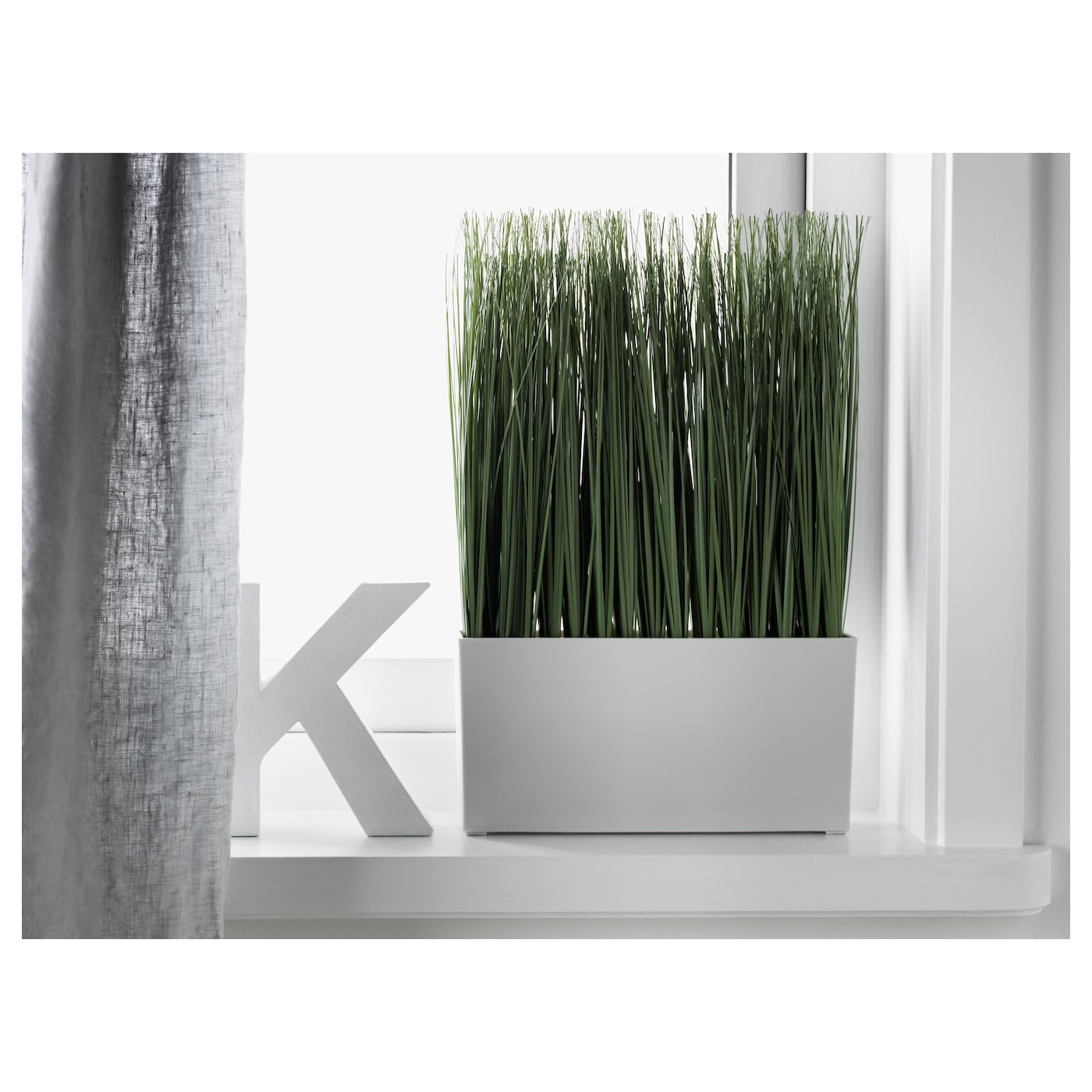 Fejka Artificial Potted Plant With Pot Grass Ikea