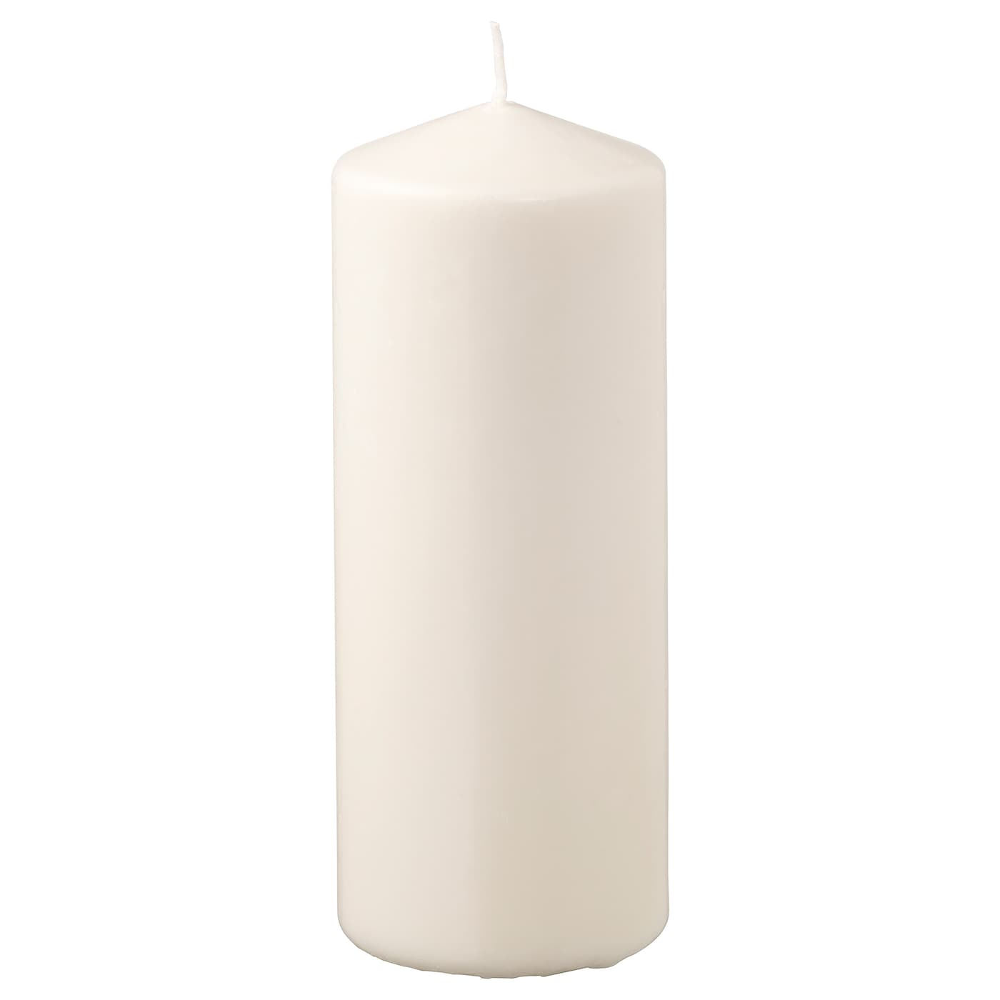 IKEA FENOMEN unscented block candle