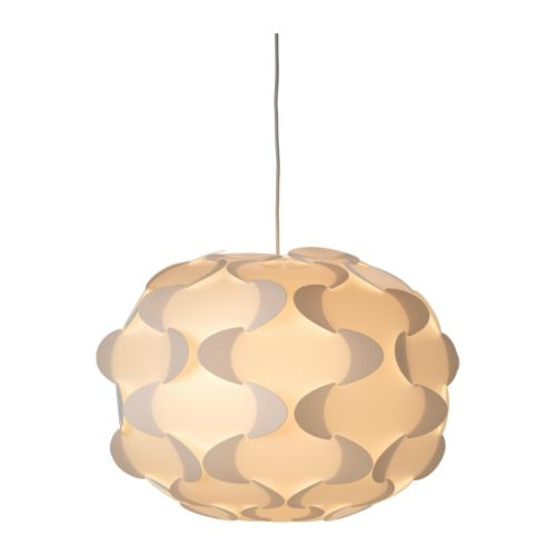 IKEA FILLSTA pendant lamp Diffused light that provides good general light in the room.