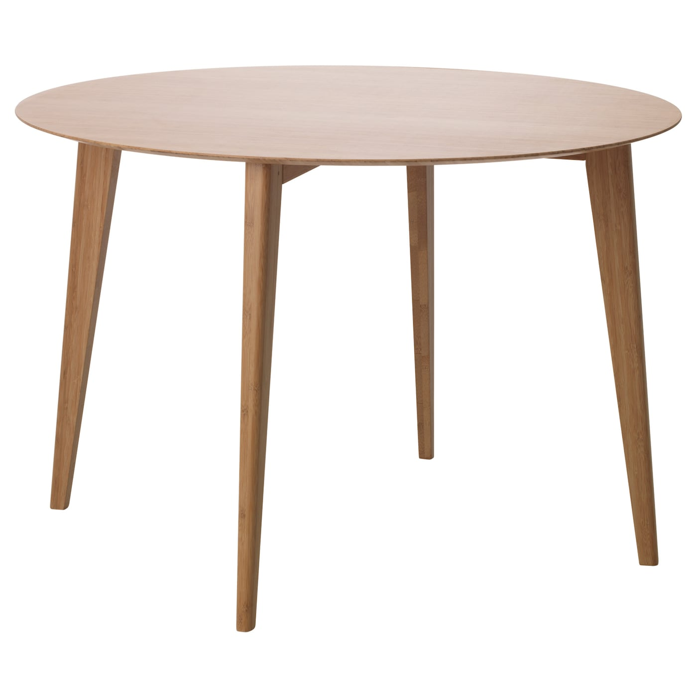 finede dining table bamboo 80 cm ikea