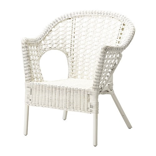 IKEA FINNTORP armchair Furniture made of natural fibre is lightweight, yet sturdy and durable.