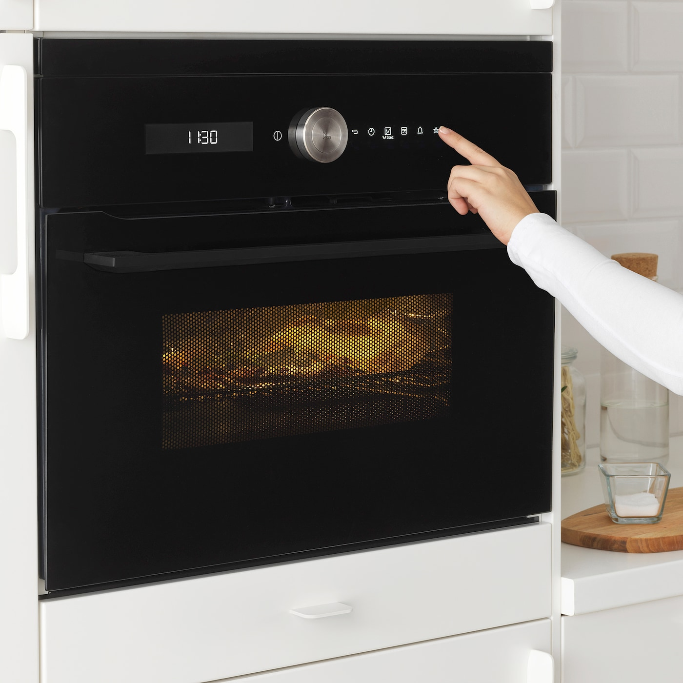IKEA FINSMAKARE microwave combi with forced air