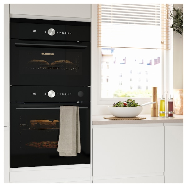 FINSMAKARE Microwave combi with forced air, black